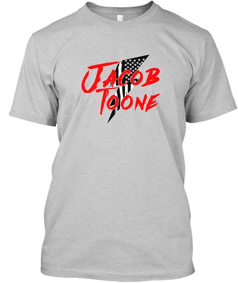 Jacob Toone Light Steel T-Shirt Front