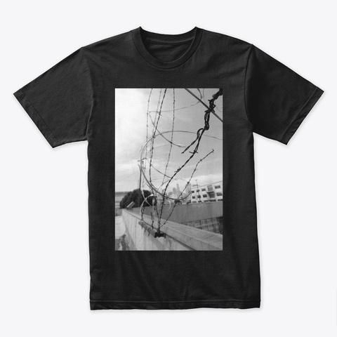 Razorwire Black T-Shirt Front