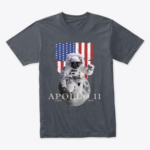 Apollo 11  Heavy Metal T-Shirt Front
