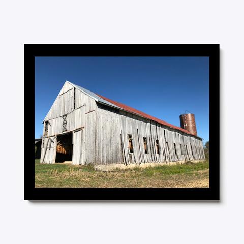 Shelbyville Ky Barn #1 Black T-Shirt Front
