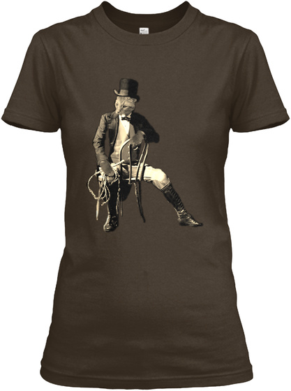 Curlin Is Master Of All He Sees Dark Chocolate T-Shirt Front