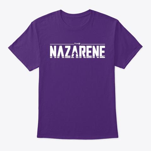 The Nazarene Purple T-Shirt Front