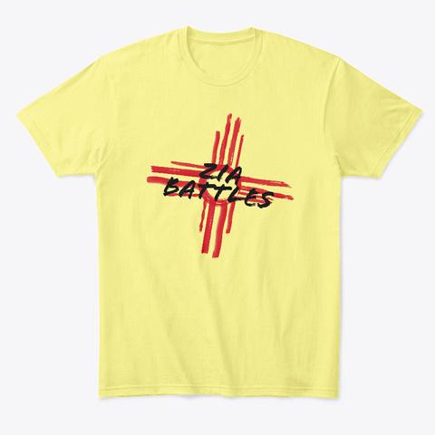 Zia Battles Pot Bonus Campaign Lemon Yellow  T-Shirt Front