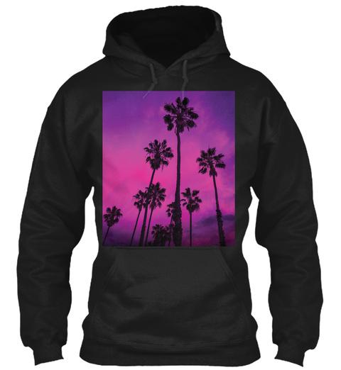 Summer Vibes Black Sweatshirt Front