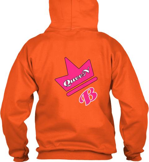 Queen B Burnt Orange T-Shirt Back