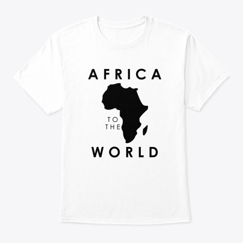 Africa2theworld White T-Shirt Front