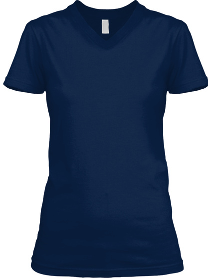 West Virginia Woman Navy T-Shirt Front