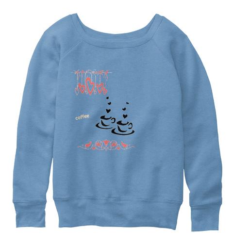 Pinkies Blue Triblend  T-Shirt Front