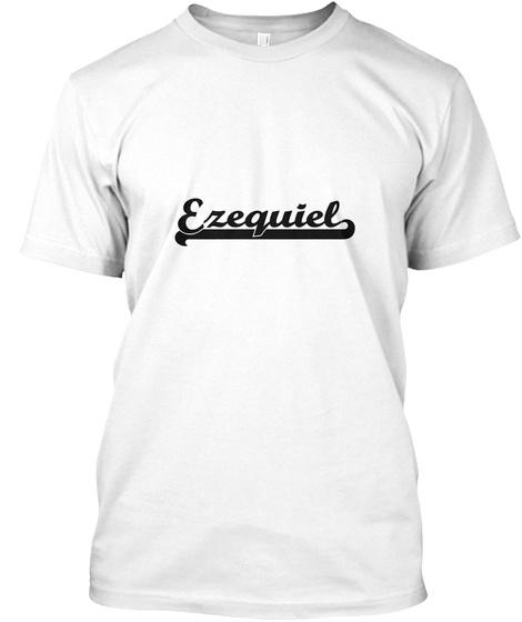 Ezequiel White Camiseta Front