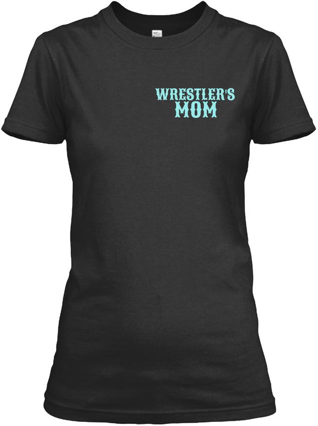 Tough-Crazy-Wrestling-Mom-Wrestlers-Mom-Gildan-Women-039-s-Tee-T-Shirt thumbnail 6