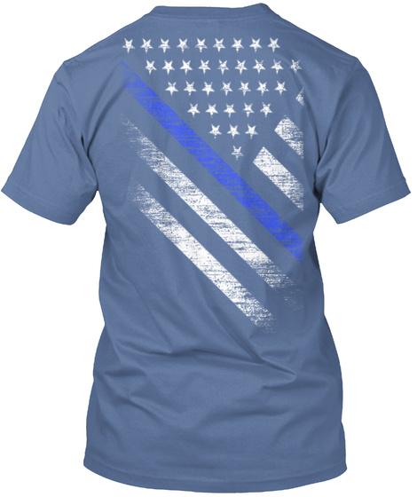 Thin blue line flag hanes tagless tee t shirt for Texas thin blue line shirt