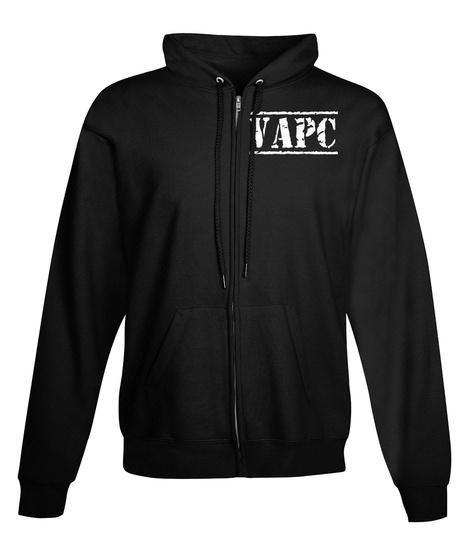 Vapc Black T-Shirt Front