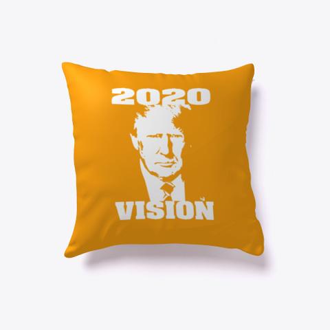 Trump 2020 Vision Orange T-Shirt Front