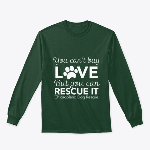 Cdr Can't Buy Love   White Forest Green T-Shirt Front