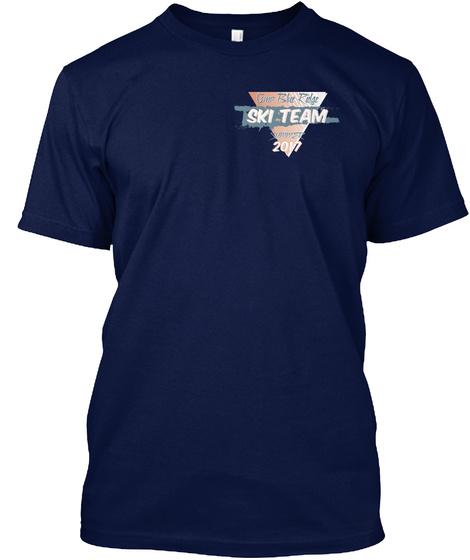 Ski Team 2017 Navy T-Shirt Front
