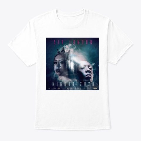 Mirror2020 Limited Edition   Collection White T-Shirt Front