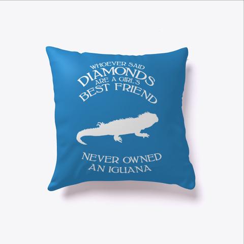 Iguana Girls Best Friend  Denim Blue Camiseta Front