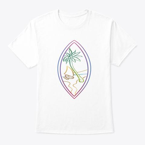 Guam 2 Taiwan Fundraiser White T-Shirt Front