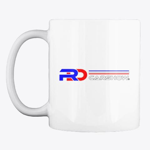 Rdcarshow Logo! White T-Shirt Front