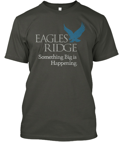 Eagles Ridge Smoke Gray T-Shirt Front