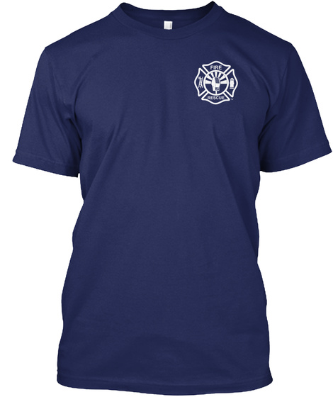 Code 3 Merchandise Midnight Navy T-Shirt Front