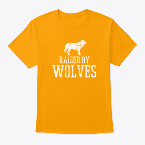 Wolves Wolf Gold T-Shirt Front