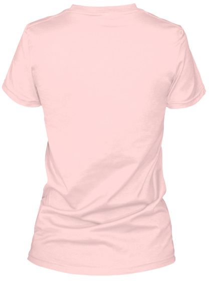 Support Adoption Light Pink T-Shirt Back