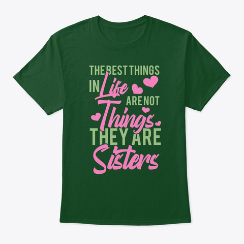 The Best Thing In Life Are Nothing, They Deep Forest T-Shirt Front