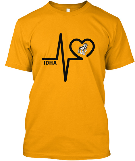 Idha Gold T-Shirt Front