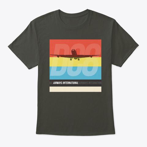 Airways International Jet Age Smoke Gray T-Shirt Front