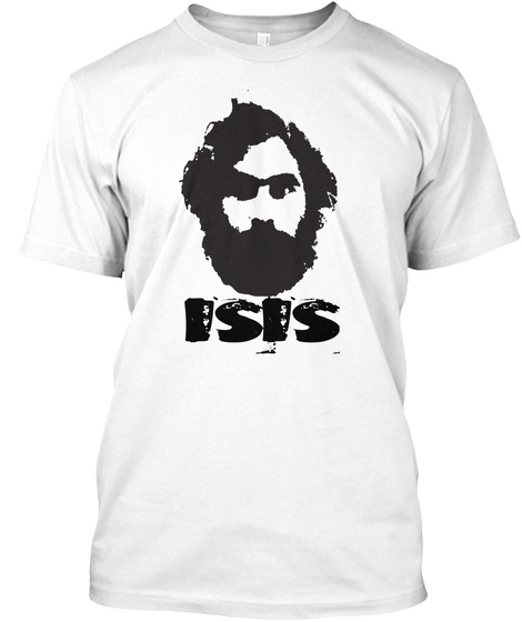 Isis White T-Shirt Front