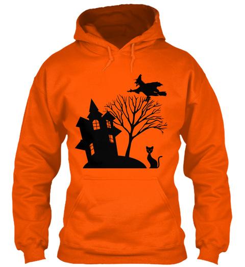 0/I Safety Orange T-Shirt Front