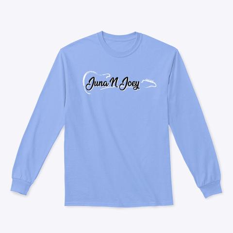 Juna N Joey Official Long Sleeve T Light Blue Long Sleeve T-Shirt Front