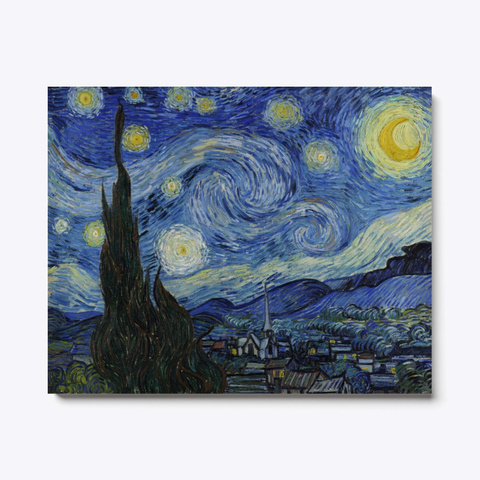 The Starry Night Standard T-Shirt Front