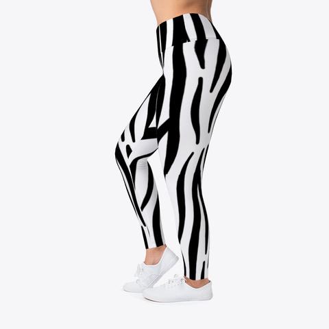 Luxury Zebra Leggings  Standard T-Shirt Left