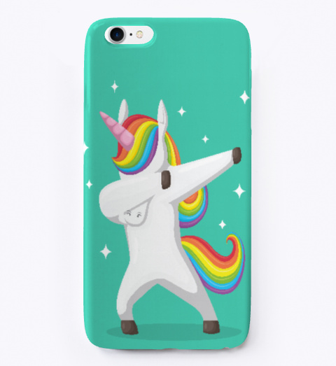 reputable site e17a1 6096d Dabbing Unicorn Phone Case