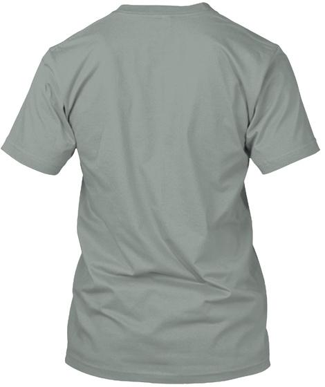 Zombie Goomba  Warm Grey T-Shirt Back