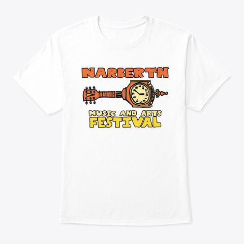 Narberth Festival Sept. 22 2019 White T-Shirt Front