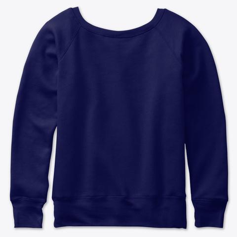 Feminist Agenda Navy  T-Shirt Back