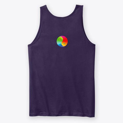 No Lettering Team Purple T-Shirt Back