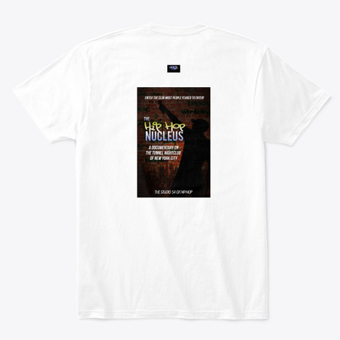 I Survived The Tunnel Nyc Apparrel White T-Shirt Back