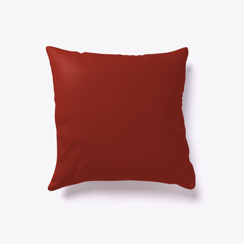 A Christmas Gift   Holiday Throw Pillow Dark Red T-Shirt Back