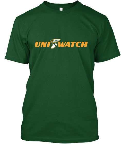 Uniwatch Deep Forest T-Shirt Front