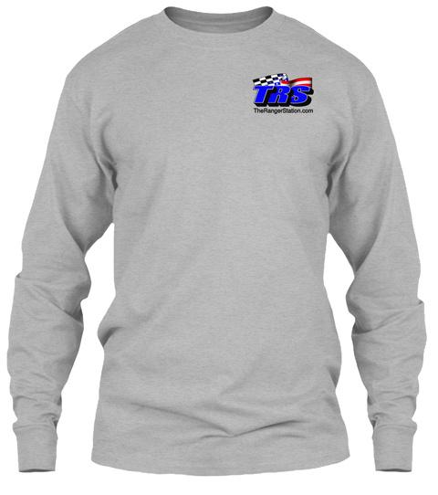 Trs The Ranger Station.Com Sport Grey T-Shirt Front