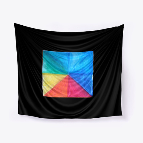 Roygbiv  Black T-Shirt Front