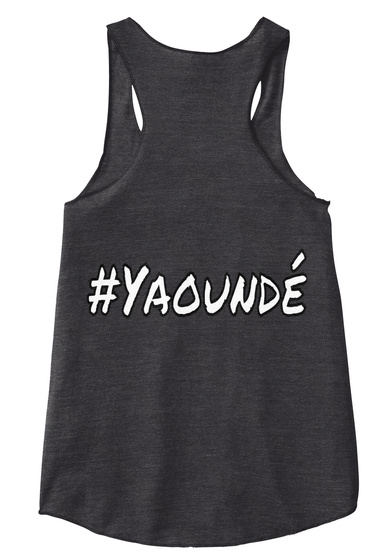 #Yaoundé Eco Black Kaos Back