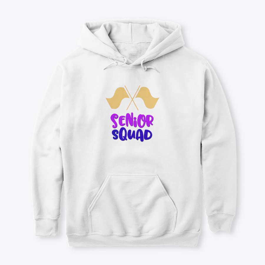 [$15+] Senior Squad - Color Guard Flag LongSleeve Tee