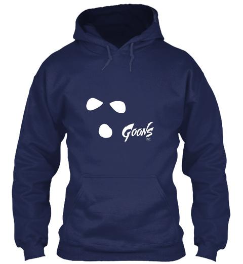 Goons Inc Ski Mask Navy T-Shirt Front