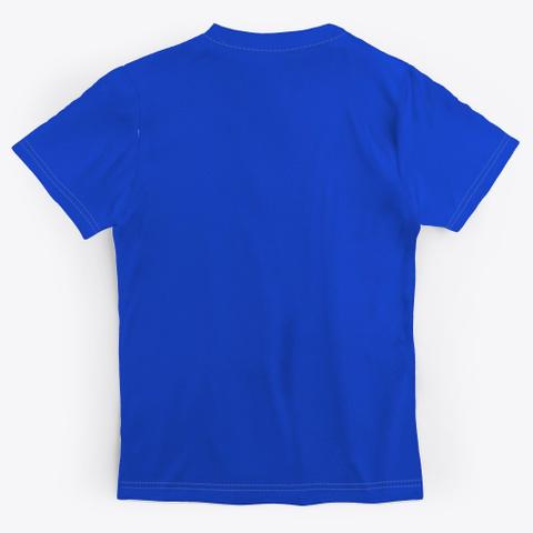 Eft Up Masses   Killer   Royal Blue T-Shirt Back