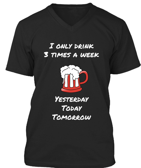 Drinking 3 times a week